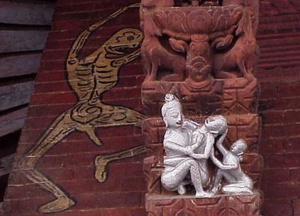 Pashupathinath carvings - Kamasutra mobel ...